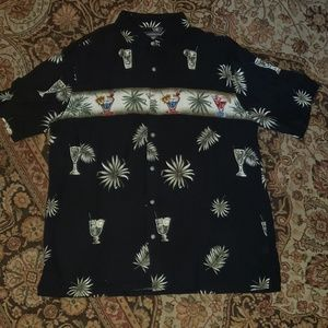 Croft and Barrow mens lounge shirt size large